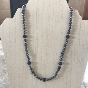 Freshwater Amethyst Necklace